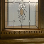 ft collins custom stained glass bathroom