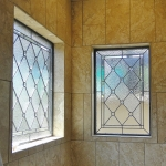 ft collins stained glass bathroom shower