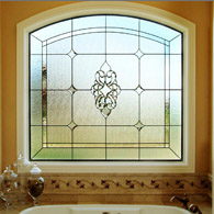 Bathroom Stained Glass Fort Collins