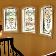 Hallway Stained Glass Windows Fort Collins